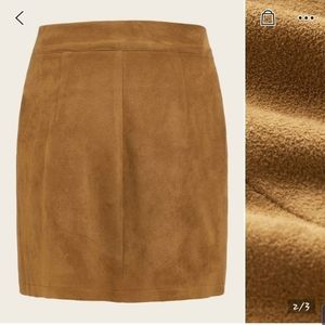 Skirts - Brand new suede skirt